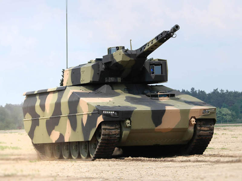 The Lynx infantry fighting vehicle (IFV) was unveiled at the Eurosatory 2016 exhibition. Image courtesy of Rheinmetall AG.