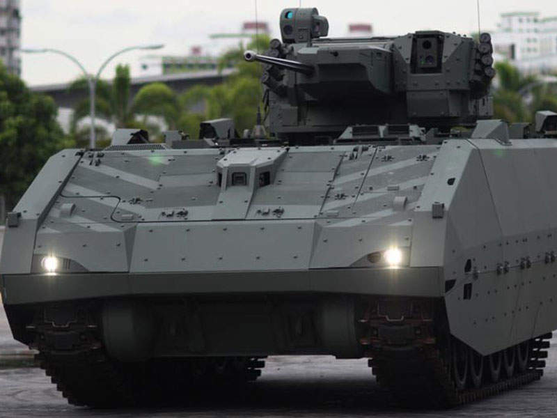 The next-generation armoured fighting vehicle is expected to be inducted into the Singapore Armed Forces in 2019. Image courtesy of Government of Singapore.