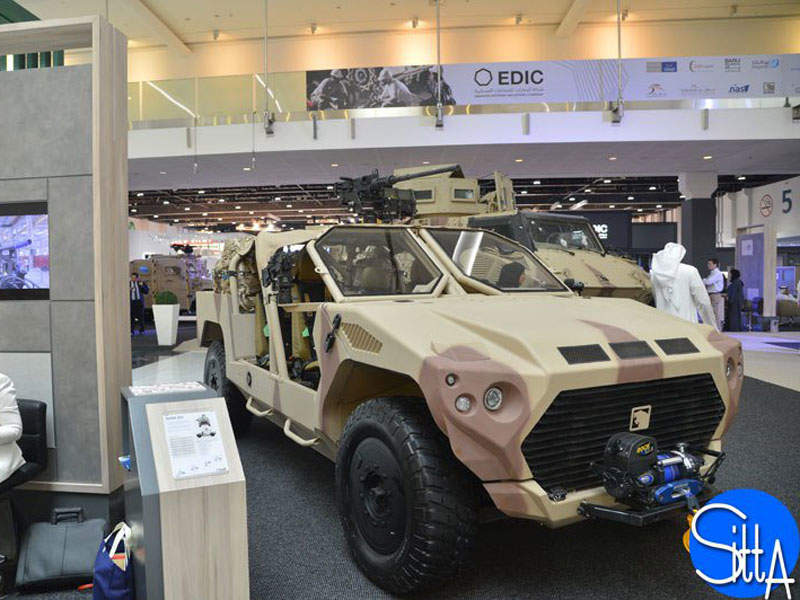 NIMR unveiled the Rapid Intervention Vehicle in February. Image courtesy of Ministère de la Défense.