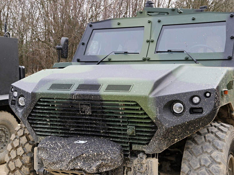 The AJBAN 440A military vehicle offers a maximum speed of 110km/h. Image courtesy of Michal Voska.