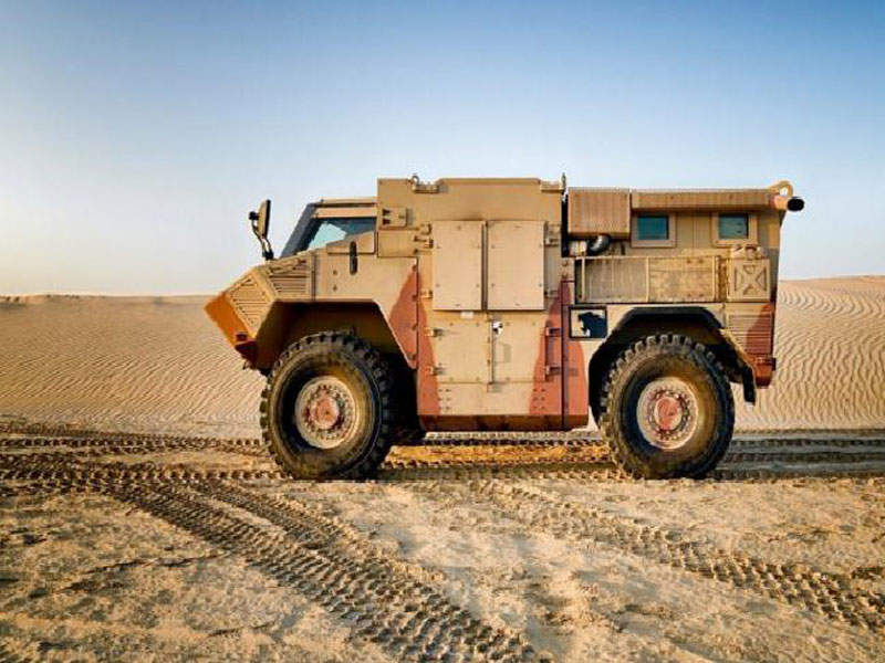 JAIS 6x6 is a mine-protected multi-purpose fighting vehicle produced by Nimr Automotiuve. Image courtesy of NIMR Automotive LLC.