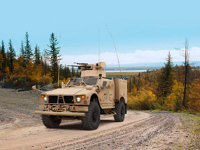 Oshkosh M-ATV Assault is a member of the M-ATV family of vehicles. Image courtesy of Oshkosh Corporation.