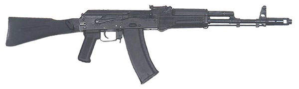 AK-74M is a modernised variant of the AK-74 assault rifle. Image courtesy of s5switch.