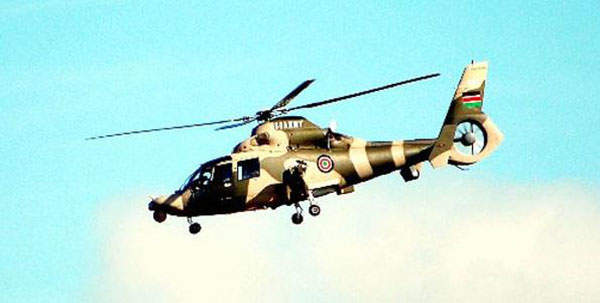 Harbin Z-9W is an attack helicopter variant of the Z-9 utility helicopter. Image courtesy of Antoisurf.