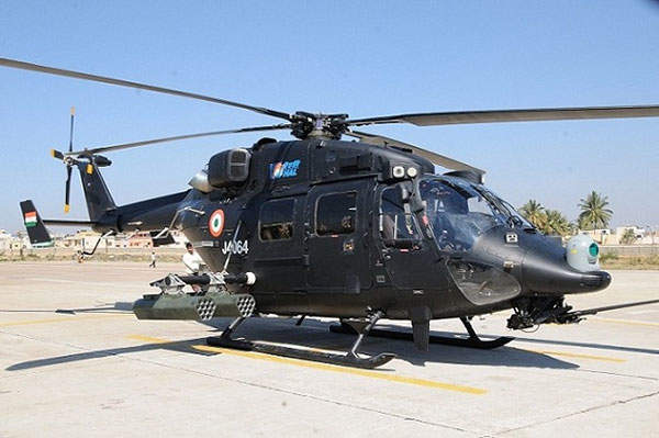 HAL Rudra is a new attack helicopter introduced into the Indian Army.