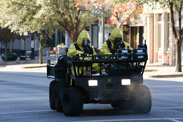 M-Gator is a military utility vehicle used for the transportation of cargo and casualty evacuation missions. Image courtesy of Texas National Guard.