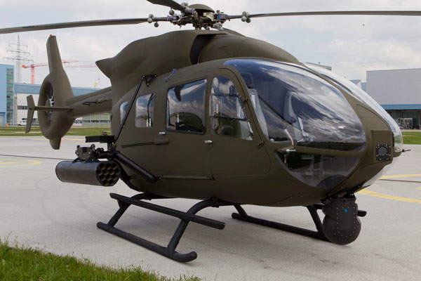 H145M is a light battlefield support helicopter. Image courtesy of ECD / Charles ABARR.