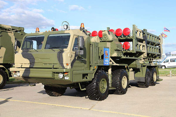 The S-350E Vityaz was unveiled at the MAKS 2013 Airshow held near Moscow in August 2013. Image courtesy of Vitaly V. Kuzmin.