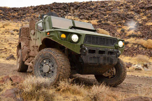 The ULV vehicles were constructed integrating advanced technologies and Commercial Off-The-Shelf (COTS) based products. Image courtesy of US Army TARDEC.
