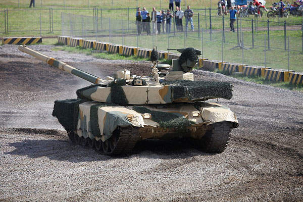 The T-90MS tank was first demonstrated during the Russian Expo Arms in September 2011. Image courtesy of Vitaly V. Kuzmin.