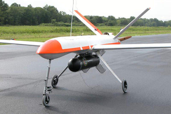 The Outlaw MQM-170C G2 UAS has a maximum endurance of more than eight hours. Image courtesy of Gary Tuttle.