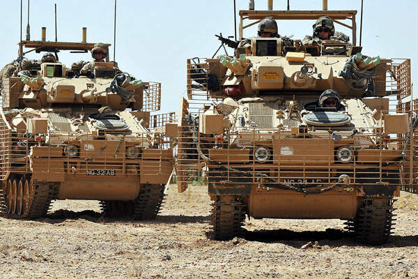 The CVR(T) Mk2 vehicles are being operated by the British Army in Afghanistan. Image:  courtesy of BAE Systems.