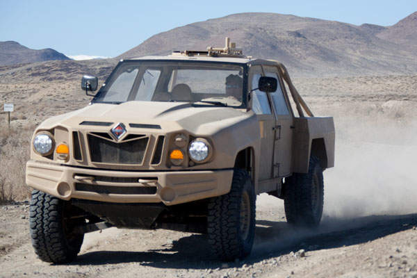 The Special Operations Tactical Vehicle (SOTV) has been developed for the US Special Operations Command (SOCOM) Ground Mobility Vehicle (GMV) 1.1 programme. Image courtesy of Navistar, Inc.