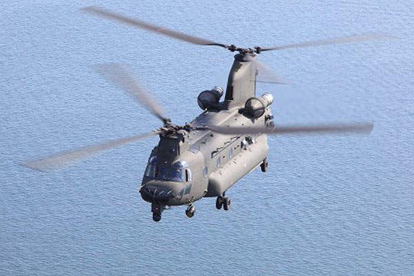 ICH-47F Chinook is jointly developed by AgustaWestland and Boeing.
