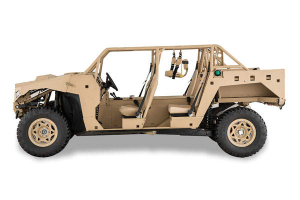 The DAGOR ultra-light combat vehicle is designed by Polaris Defense. Image courtesy of Polaris Industries, Inc.