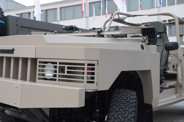 The ALTV (Acmat Light Tactical Vehicle) is a 4x4 multi-purpose vehicle designed by ACMAT. Image: courtesy of Ministerstwo Obrony Narodowej.