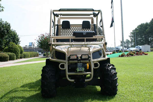 The 4x4 Utility Baserunner vehicle is designed by Textron Marine & Land Systems. Image courtesy of Textron Systems.