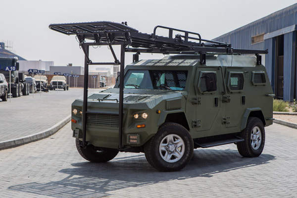 The Cobra 4x4 Armoured Personnel Carrier (APC) was unveiled in April 2013. Image courtesy of STREIT Group.