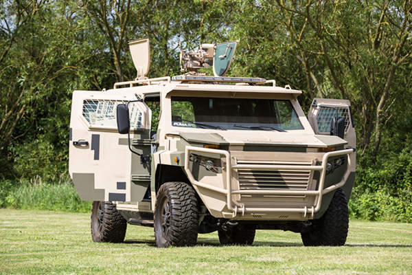 Puma APC can be used in military, law enforcement, fire support and counter-terrorism operations. Image courtesy of STREIT Group.