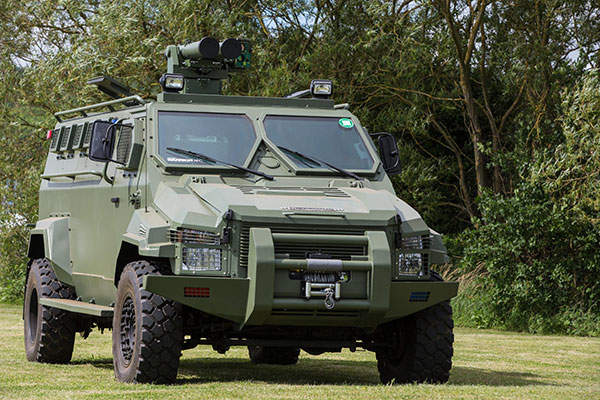 Warrior is a 4x4 Armoured Personnel Carrier (APC) developed by STREIT Group. Image: courtesy of STREIT Group.