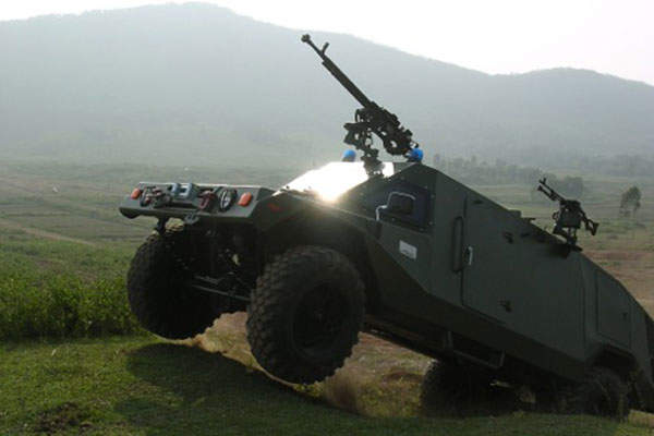 The RAM MK3 armoured vehicle is manufactured by Israel Aerospace Industries' Ramta division. Image: courtesy of Israel Aerospace Industries Ltd.