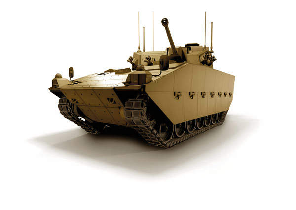 Scout SV is a reconnaissance variant of the ASCOD armoured vehicle from General Dynamics. Image courtesy of General Dynamics UK.