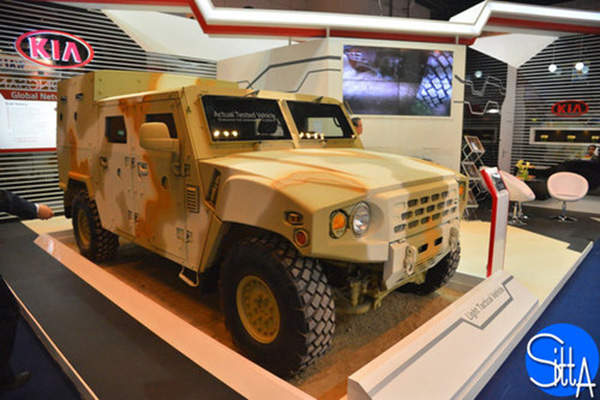 Kia Light Tactical Vehicle (KLTV) offers high-mobility and high-survivability. Image: courtesy of Ministère de la Défense.