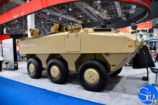 The PARS 6x6 CBRN reconnaissance vehicle prototype was exhibited at the IDEX 2015. Image: courtesy of Ministère de la Défense.