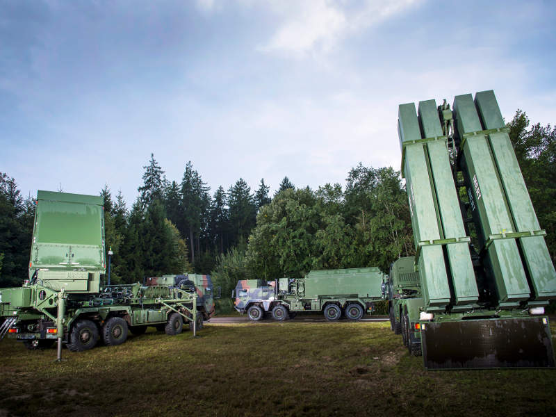 The MEADS extended air defence system will replace Hawk and Patriot systems worldwide. Image courtesy of MEADS International.