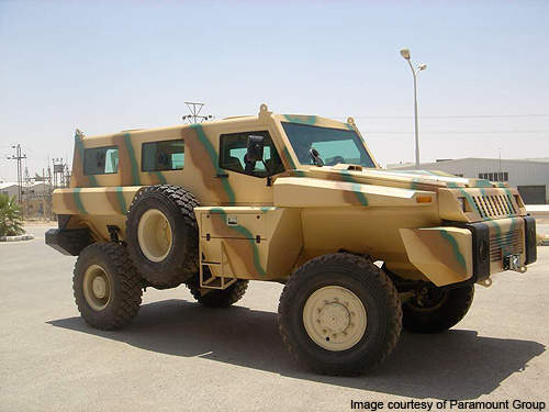 Paramount Marauder Mine Protected Vehicle - Army Technology