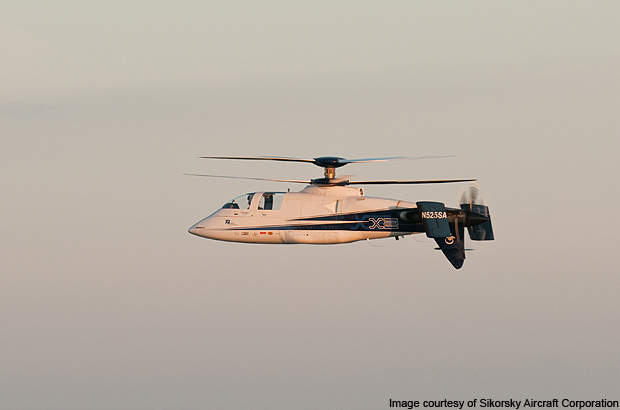 Sikorsky X2's 250kt cruise speed is an unofficial speed record for a helicopter.