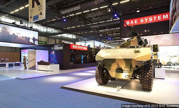 The RG41 combat vehicle was exhibited at Eurosatory 2010.