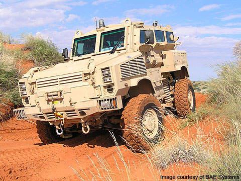 RG-31 Mk5 vehicle