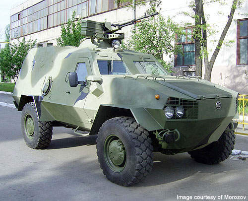 The vehicle is developed by Kharkiv Morozov Machine Building Design Bureau (KMDB) in Ukraine.