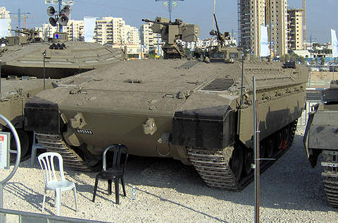 The Namer armoured vehicle is a major element of the Israel Defence Force (IDF) modernisation plan.