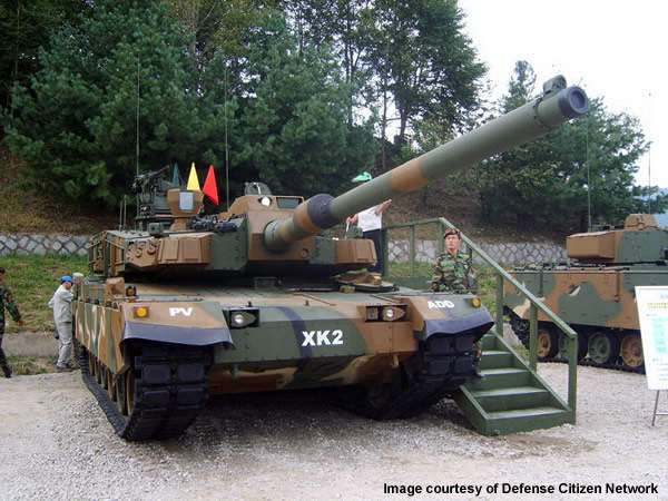 Altay is based on the South Korean K2 Black Panther MBT.