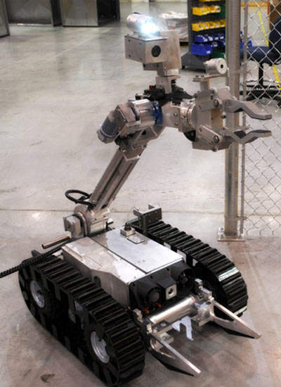 ANDROS Mark VA-1 bomb disposal robot