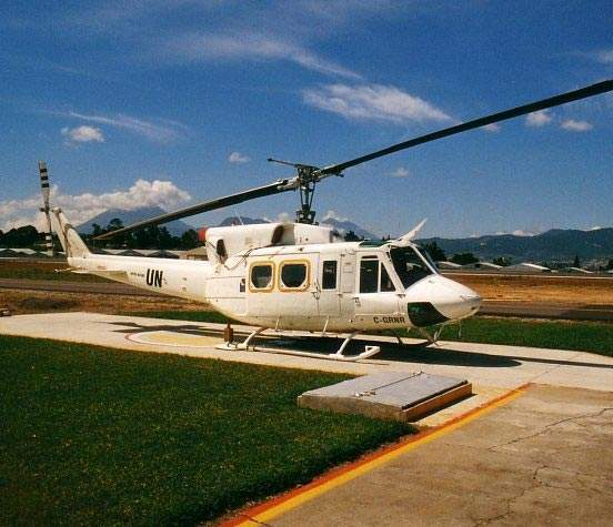 The helicopters are in service with civil and military operators from various countries.