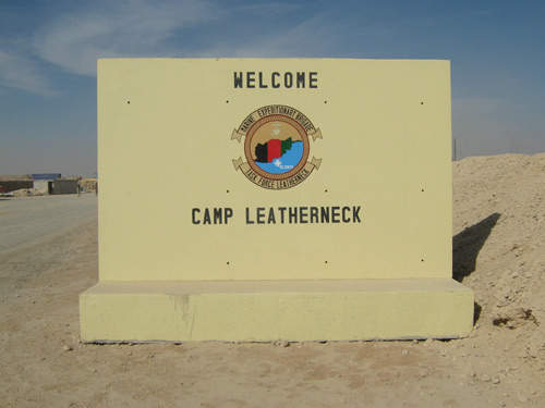 Camp Bastion works closely with US Allies at Camp Leatherneck, which is located adjacent to the UK Base.