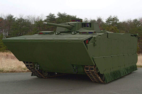 The expeditionary fighting vehicle (EFV) will be the new amphibious assault vehicle for the US Marine Corps.