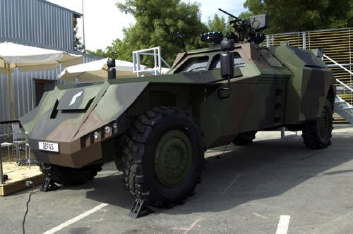 Example of the Gefas modularly designed vehicle