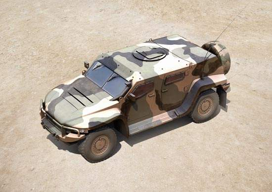 Hawkei has been tested against improvised explosive devices (IED) to ensure that its design allows maximum protection.