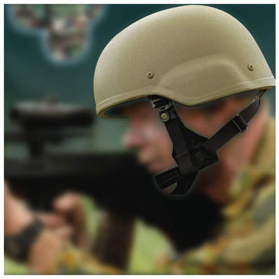 SM Carapace's helmet in use