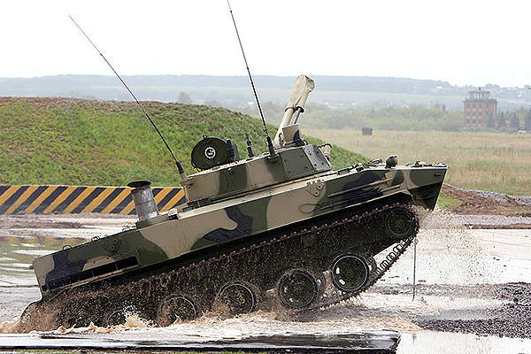 The upgraded IFV offers superior mobility in all terrains. Image courtesy of Vitaly V. Kuzmin.