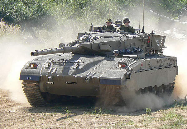 LAHAT is principally designed for 105mm and 120mm guns of the Merkava tanks. Image courtesy of Spike78.
