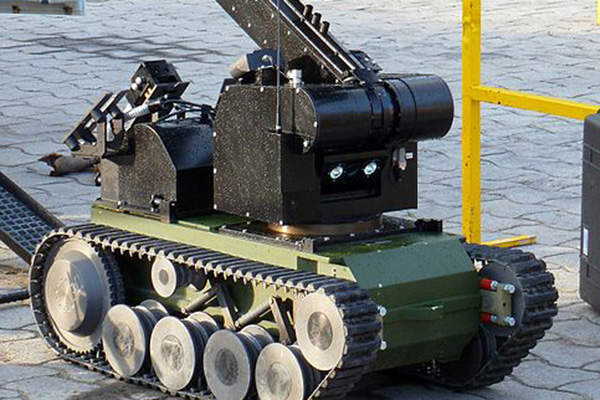 The Spanish Army operates a total of 27 tEODor robot systems. Image courtesy of Outisnn.