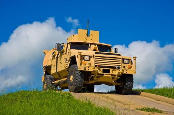 Lockheed Martin Joint Light Tactical Vehicle (JLTV) Category B design used during the Technology Development phase. Image courtesy of Lockheed Martin.