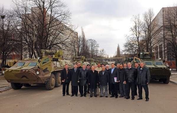 The first batch of BTR-4 APCs was accepted by the Iraqi inspection team in March 2011. Iraq is to receive a total of 420 vehicles. Image courtesy of the Kharkiv Morozov Machine Building Design Bureau.