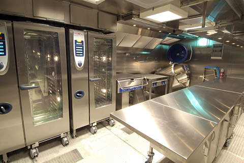 The State Of The Art Kitchen From CSI Norway Is Able To Prepare A Wide  Range Of Food Choices Quickly And Effectively