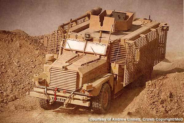 Derived from the American Cougar, Mastiff 2 underwent more than 50 modifications to meet UK forces' requirements.